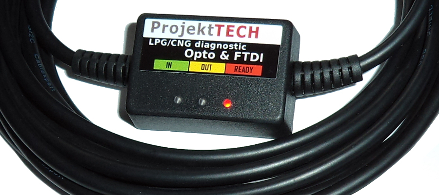 Diagnostic LPG CNG GPL OPTO protection